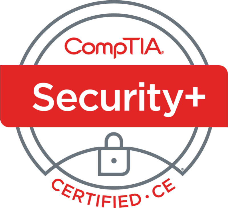 CompTIA Security+ badge