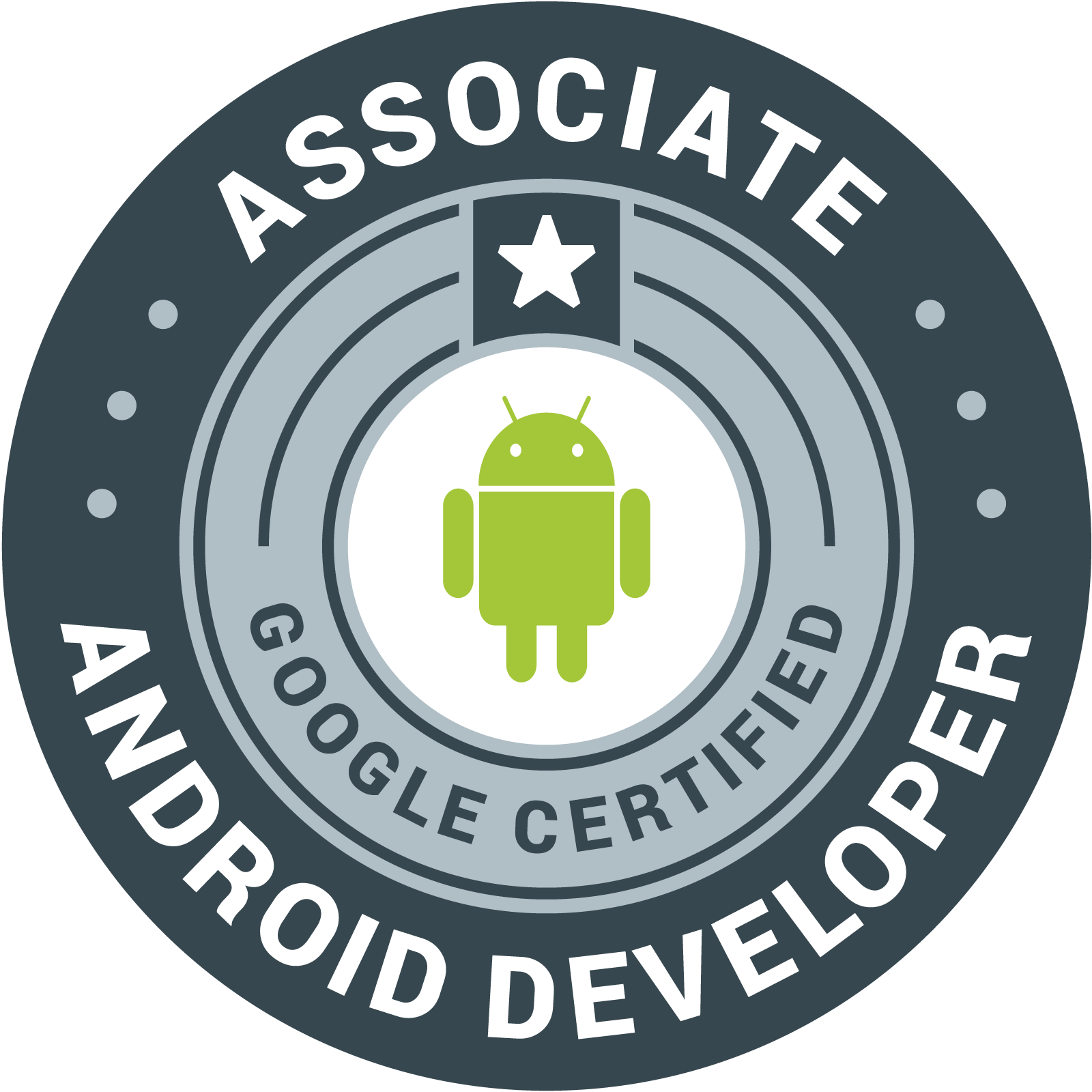 Associate Android Developer badge
