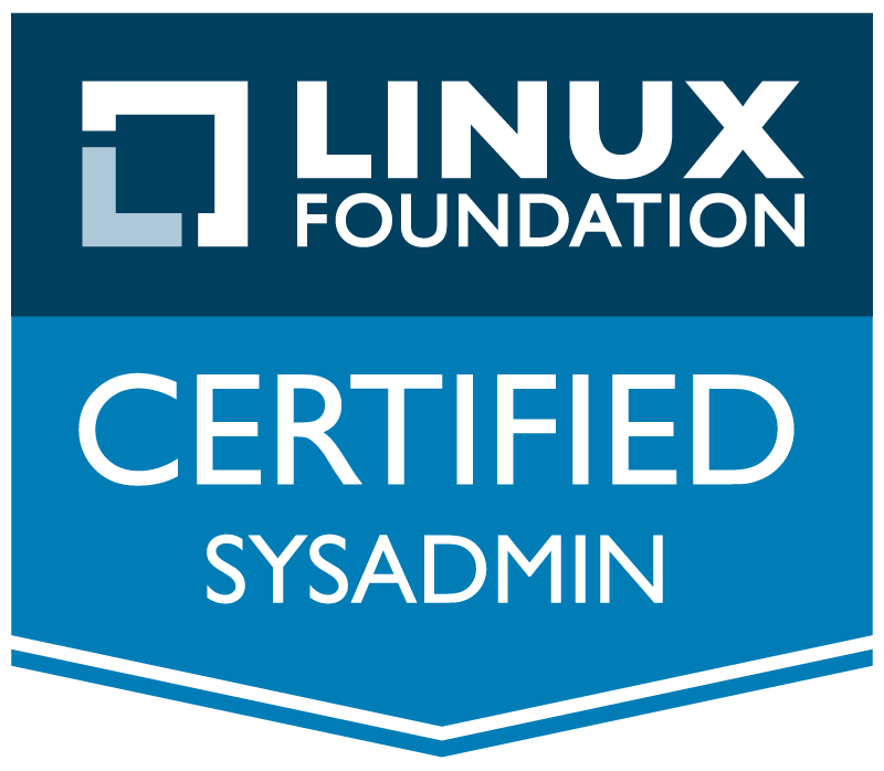Linux Foundation Certified System Administrator badge